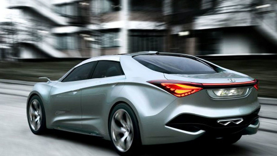 Hyundai i40 four-door coupe version planned - rumors