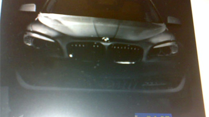 2011 BMW 5-Series Leaked Brochure Image