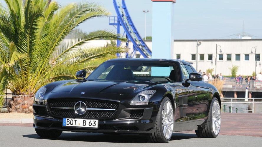 BRABUS SLS AMG tuning program announced