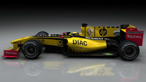 Renault F1 Team, R29, DIAC branding, 24.03.2010