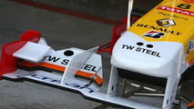 TW Steel watches sponser the Renault F1 Team