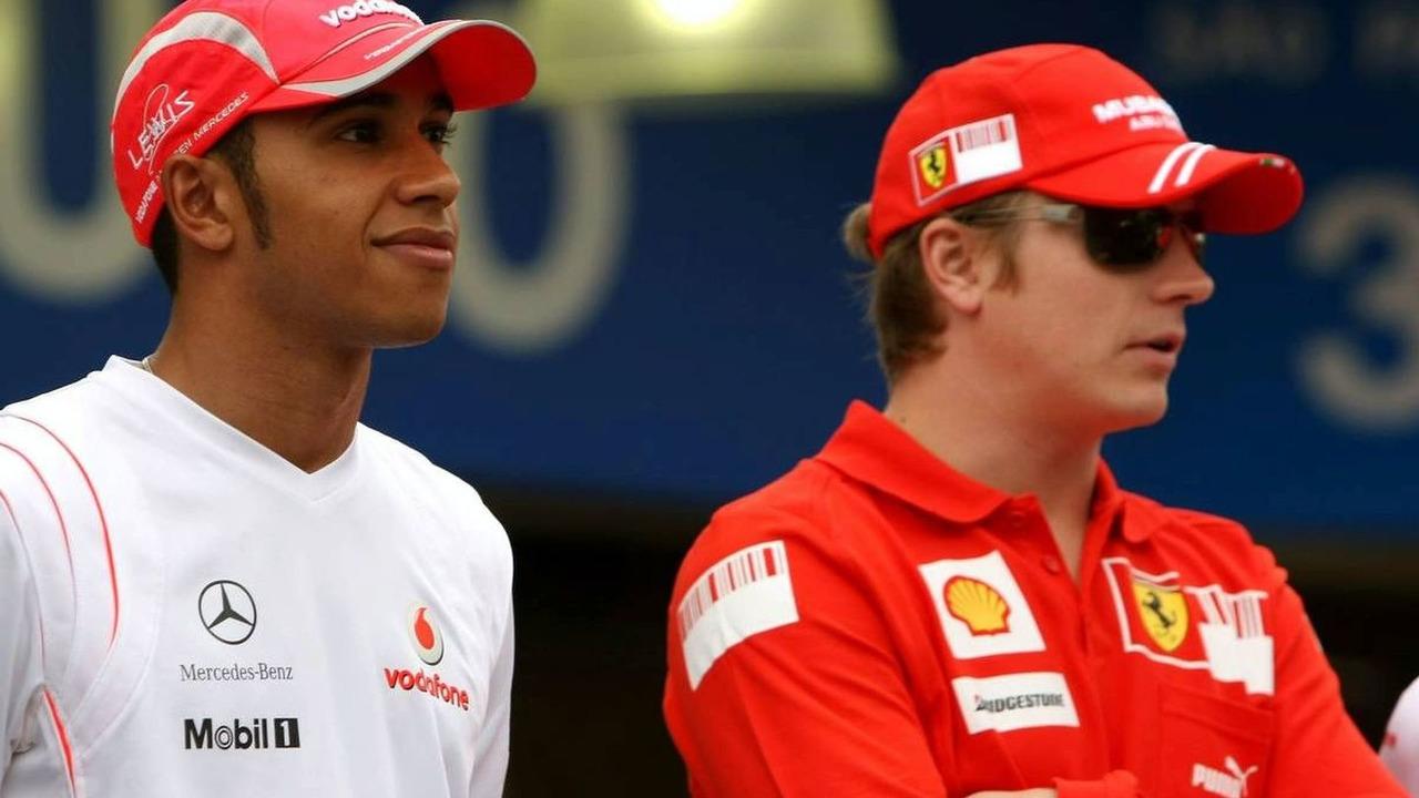 Lewis Hamilton and Kimi Raikkonen could be Team-mates in 2010
