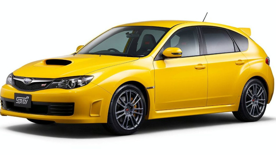 Subaru Impreza WRX STI spec C launched in Japan
