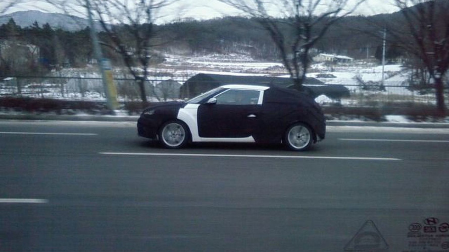 2012 Hyundai Veloster Coupe First Spy Photos