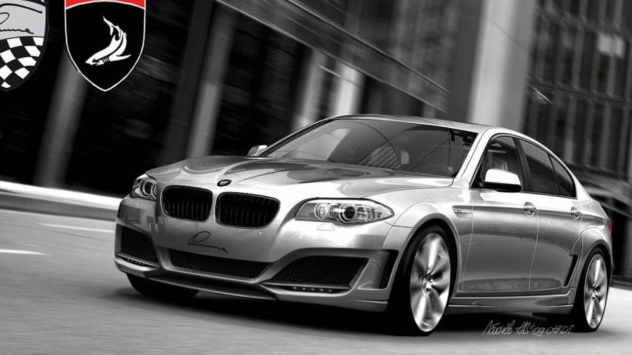 2011 BMW 5-Series by Lumma Design and Topcar