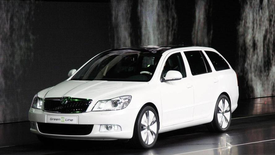 Skoda Octavia Green E Line Concept released