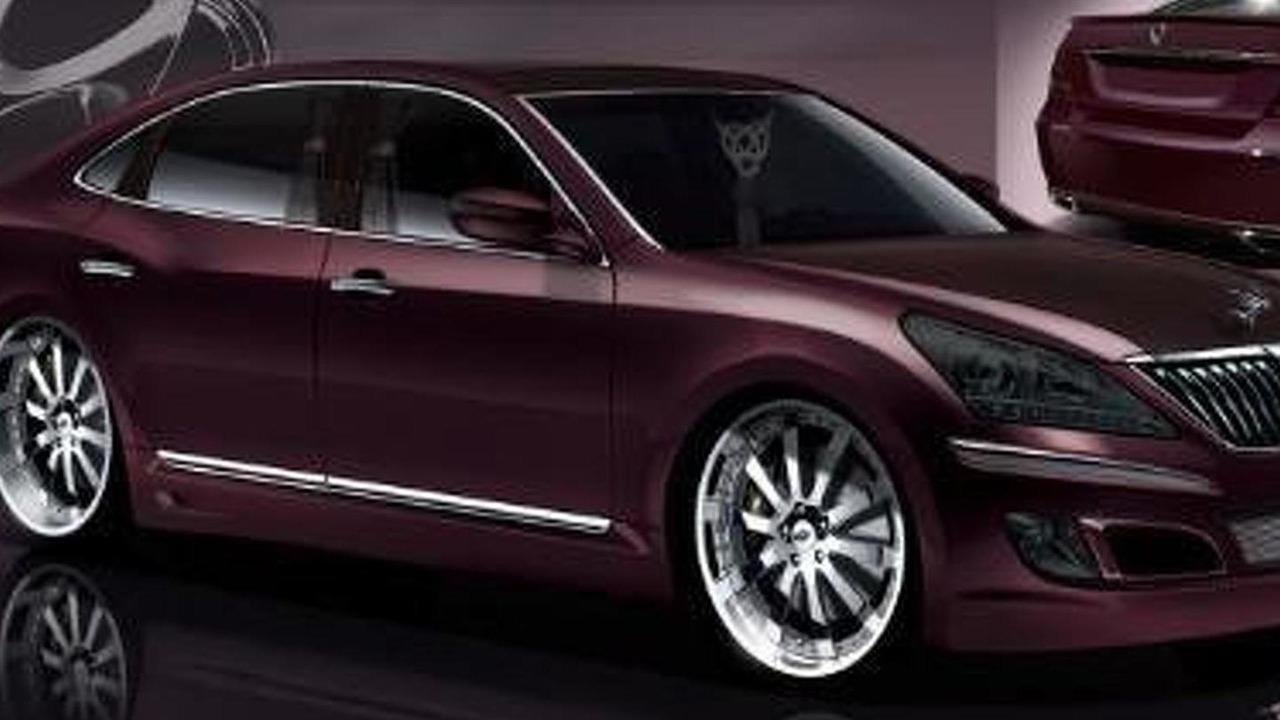 Gallery Hyundai Equus By Mummbles Marketing For Sema