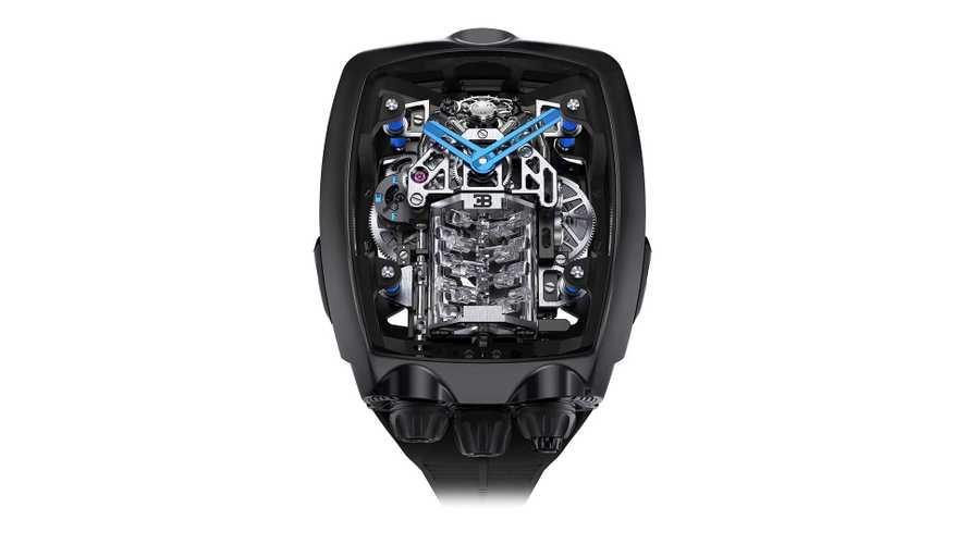 Jacob & Co.: Unglaubliche Uhr zu Ehren des Bugatti Chiron