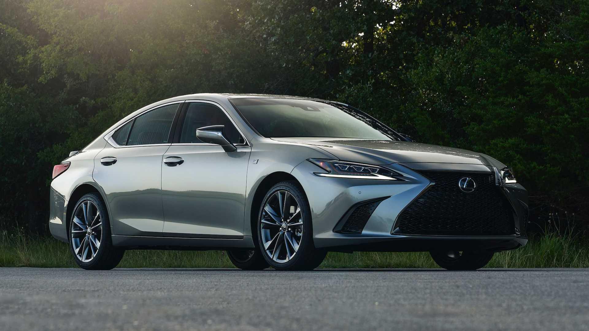 2021 lexus es gets allwheel drive limited black line trim