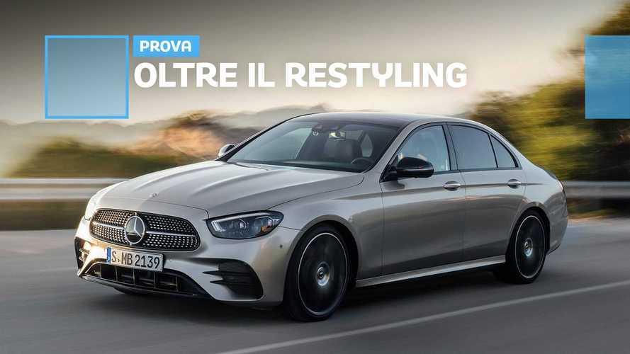 Mercedes Classe E restyling, la prova del nuovo diesel mild hybrid