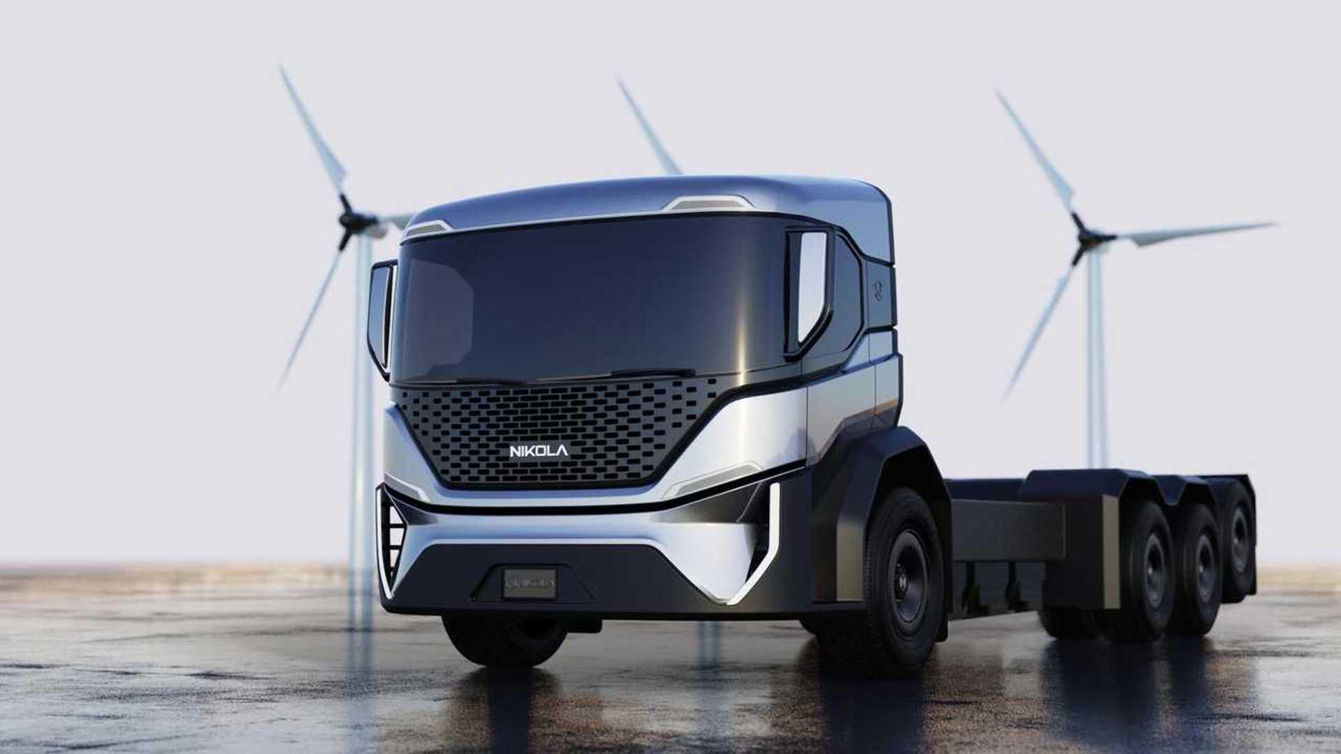 Nikola, ordine da 2.500 camion della spazzatura elettrici