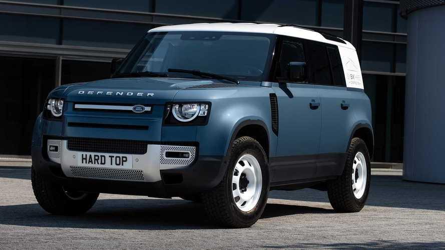 Land Rover Defender Hard top - L'utilitaire qu'il vous faut