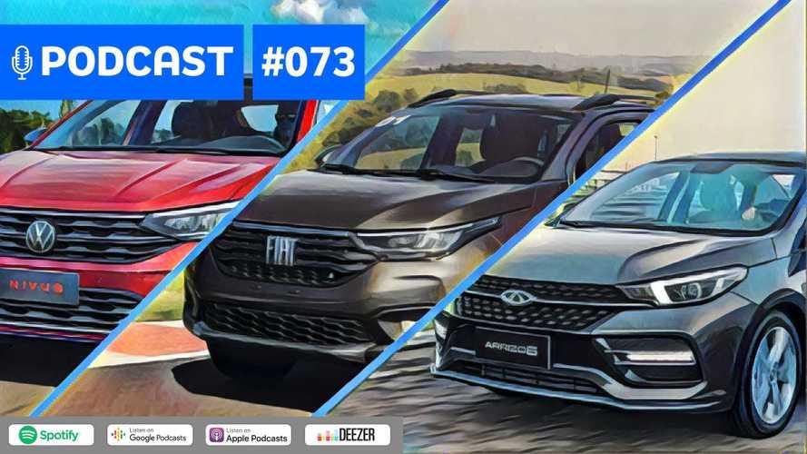 Motor1.com Podcast #73: Os preços e equipamentos de VW Nivus e Fiat Strada