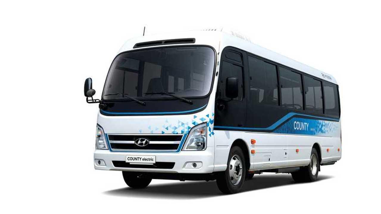 Hyundai 'County Electric' Minibus