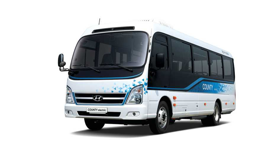 Hyundai Launches 'County Electric' Minibus In South Korea