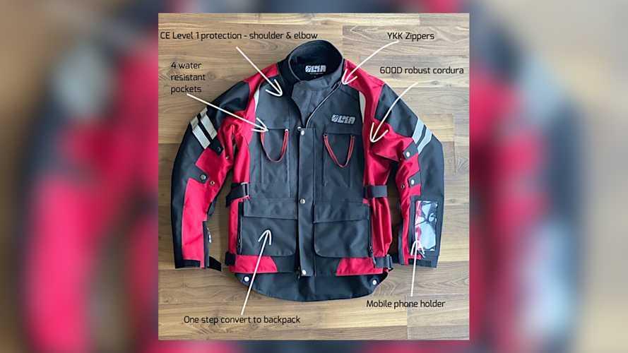 Ulka Gear Convertible Motorcycle Jacket