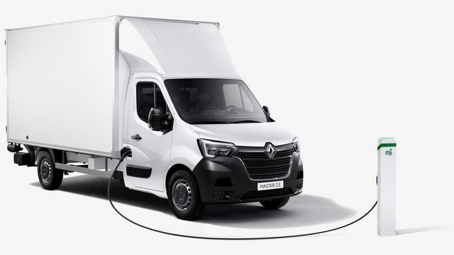 Renault Master Z.E.: furgão elétrico ganha versão chassi-cabine