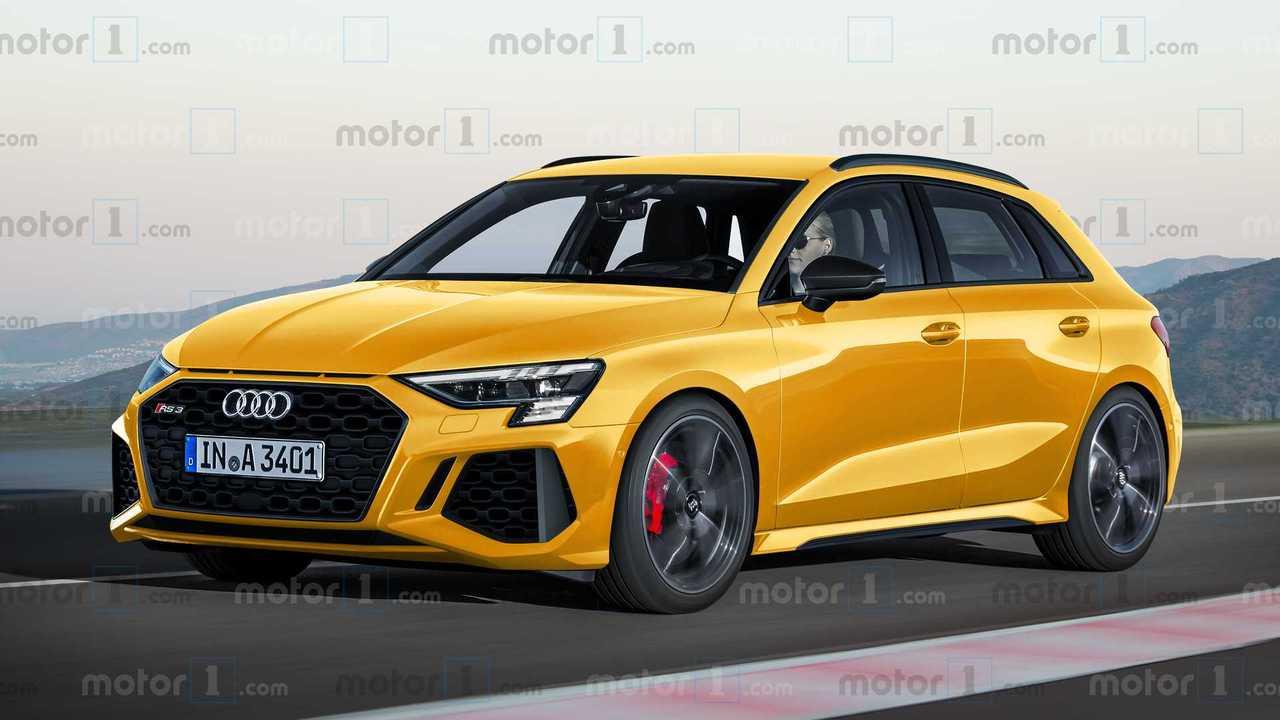 Audi RS 3 Sportback Exclusive Motor1 Renderings