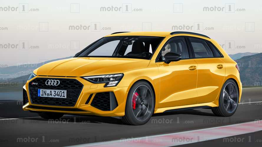 2021 Audi RS3 Sportback, this is what it could look like