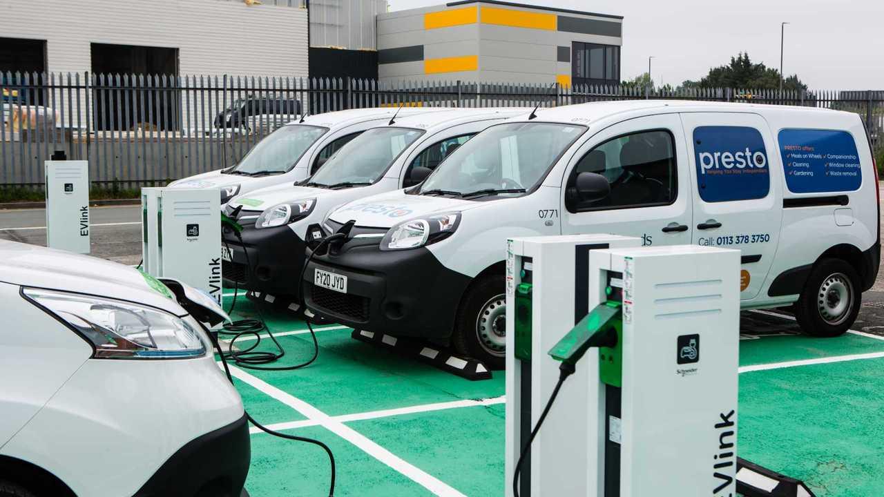 Leeds City Council Renault Kangoo electric vans