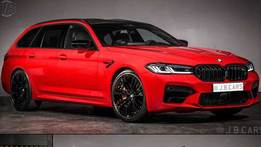 2021 BMW M5 Touring Rendering Shows What We're Missing Out On
