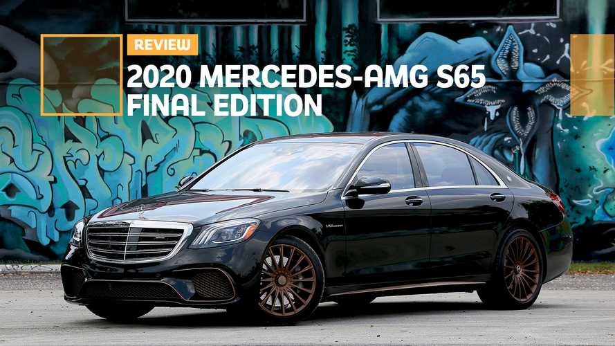 2020 Mercedes-AMG S65 Review: A Fitting Goodbye