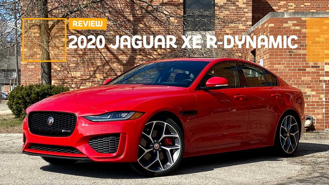 2020 jaguar xe review: and now for something completely