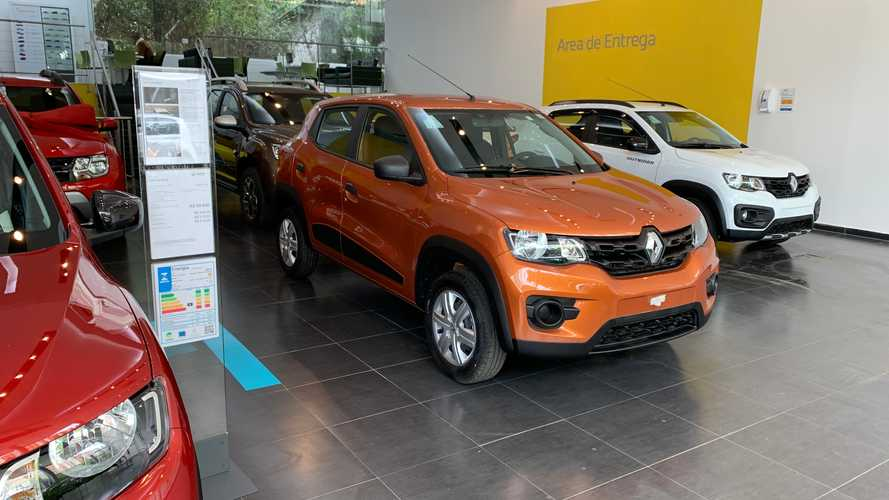 Renault dá descontos de até R$ 8 mil com nota de fábrica