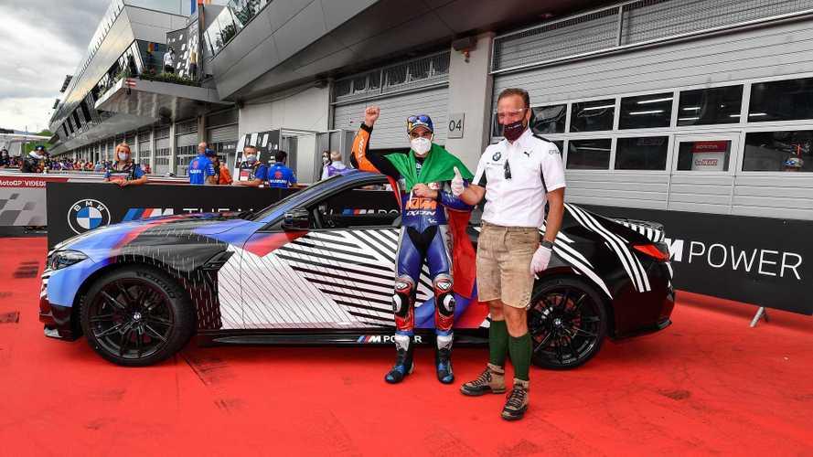 Miguel Oliveira remporte la nouvelle BMW M4