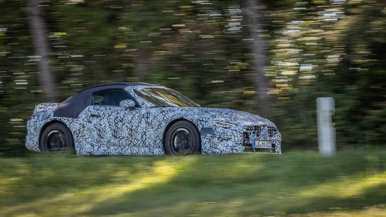 Новый Mercedes-AMG SL, профиль