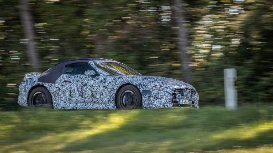 В Mercedes-AMG начали дорожные тесты нового родстера SL