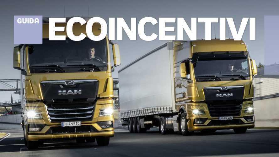 Incentivi, 122 milioni per chi acquista camion nuovi