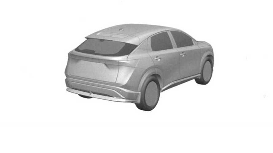Nissan Ariya 2020, fotos espía