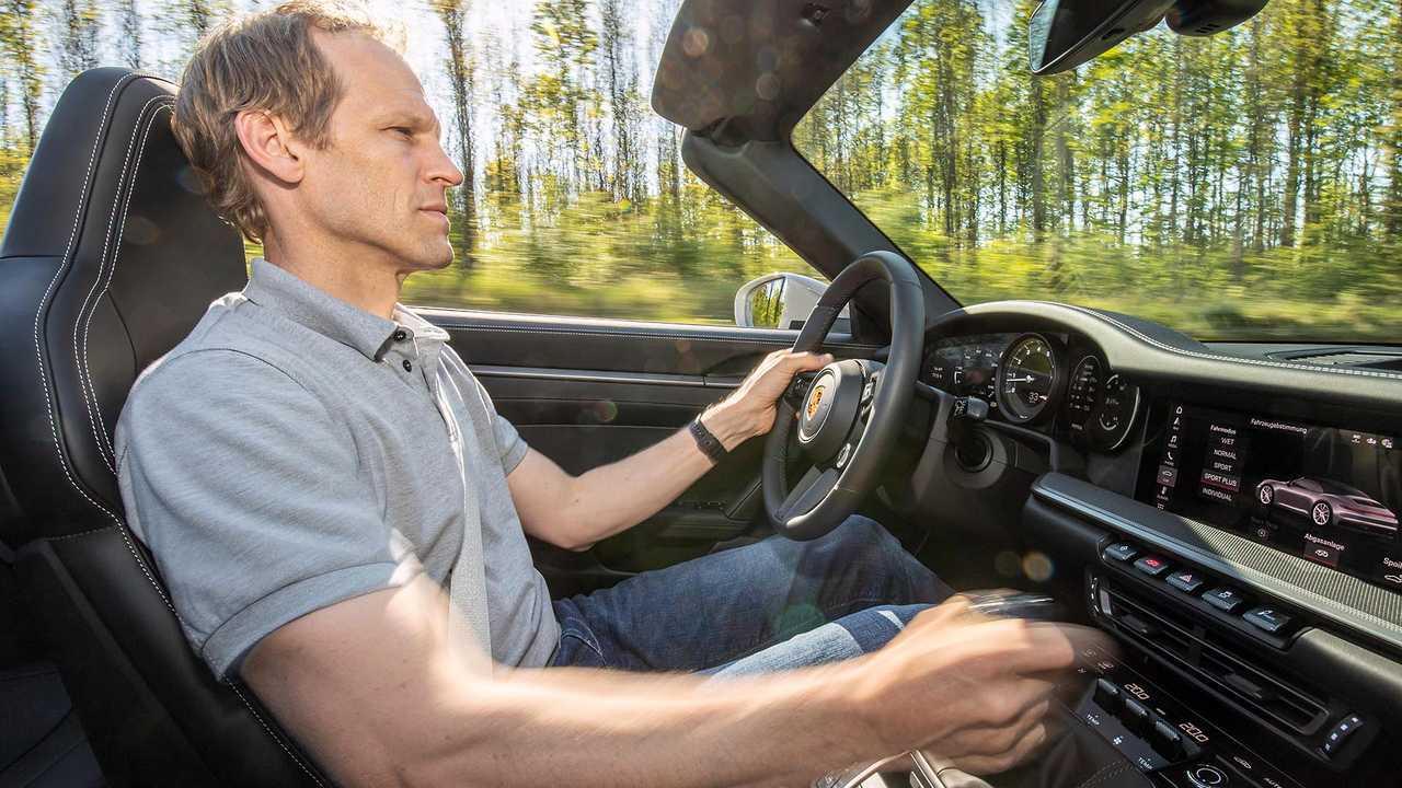 Porsche 911 2020 con cambio manual
