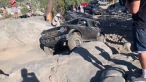 Ford Bronco Caught Climbing Rubicon Trail