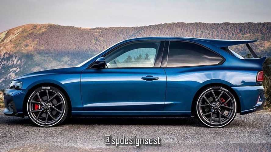 Ford Focus ST rendering is a worthy Escort RS Cosworth tribute