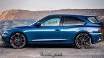 Ford Focus ST mutiert im Rendering zum Escort RS Cosworth