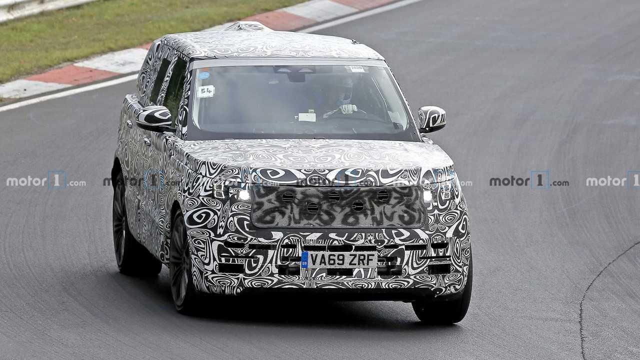 Nuova Range Rover 2021, le foto spia
