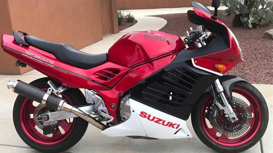 Suzuki Muscle, Ferrari Looks: Want A Resto-Mod RF900R?