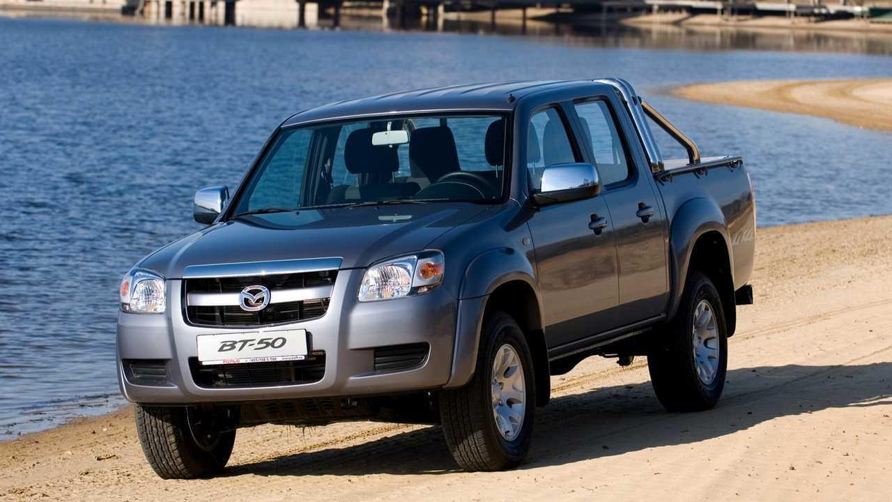 Ford Ranger / Mazda BT-50 и Citroen C4 Picasso – 54 км/ч