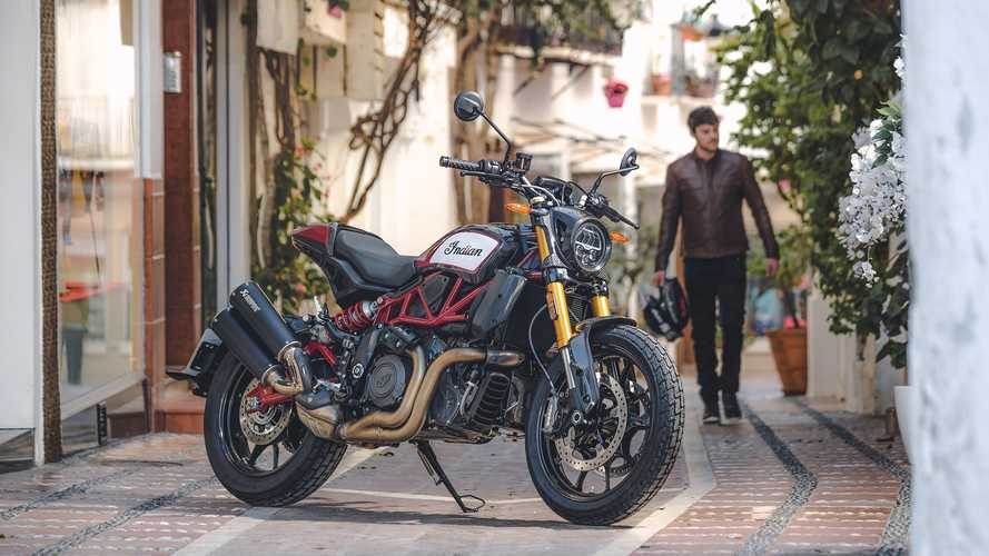 Indian Premieres The Premium 2020 FTR 1200 Carbon