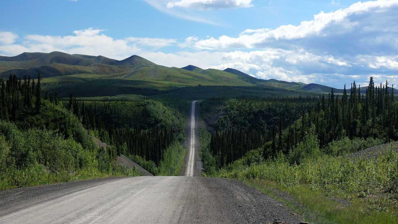 Dempster Highway (Yukon Territories / Northwest Territories, Canada)