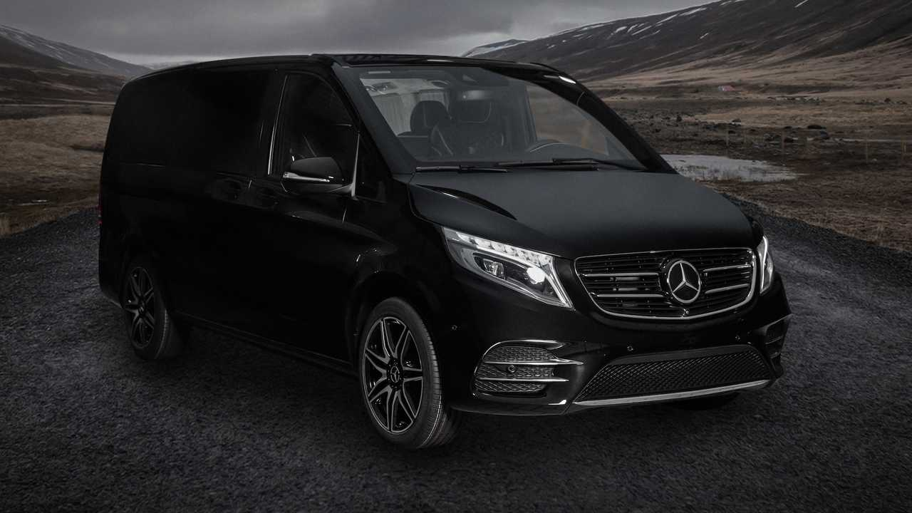 Mercedes V-Class Business Lounge On Wheels By Schawe Car Design