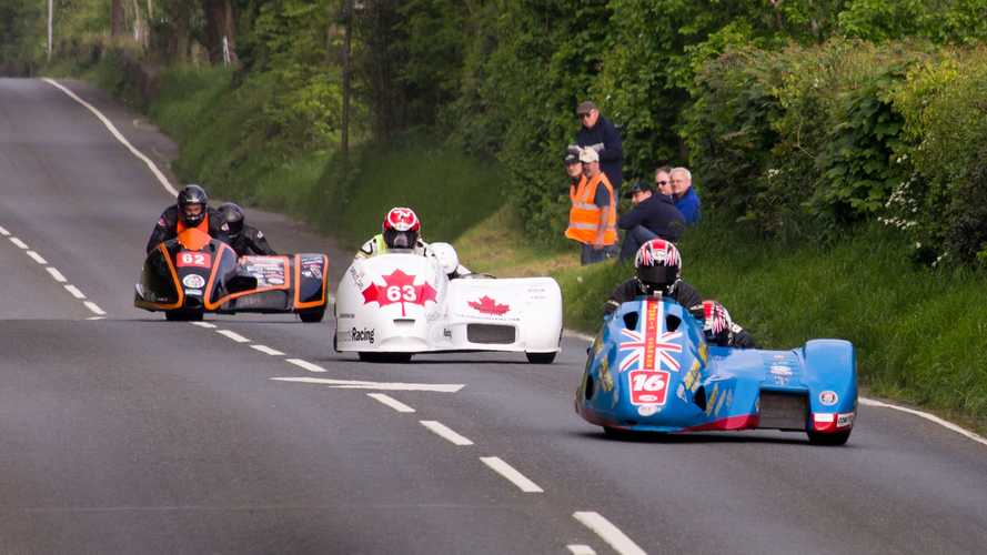 What's it like to race in a sidecar? Now you know.