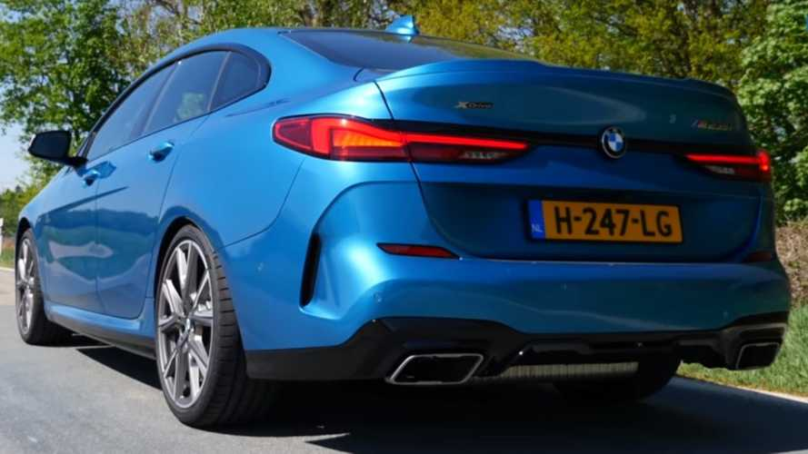 See the BMW 2 Series Gran Coupe M235i go flat out on the Autobahn