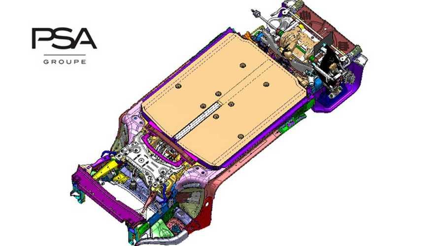 PSA: Neue Elektro-Plattform eVMP für bis zu 650 Kilometer Reichweite