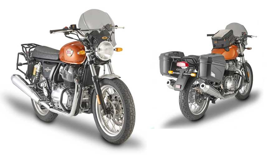 Kappa Can Turn Your Royal Enfield Interceptor Into A Touring Bike