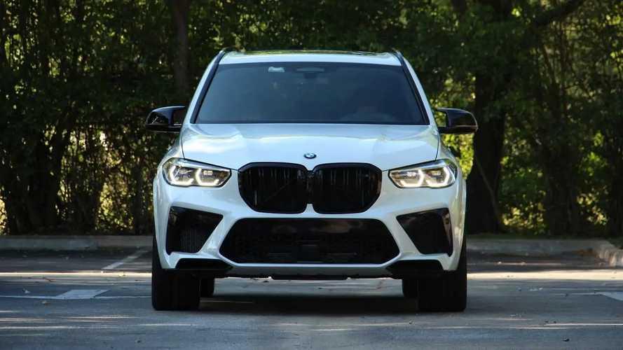 BMW X5 M Competition, la prova