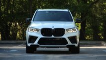 BMW X5 M Competition, la prova