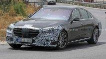Mercedes S-Klasse (2021) beinahe ungetarnt erwischt